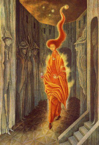 ندا - رمدیوس وارو - The Call - Remedios Varo