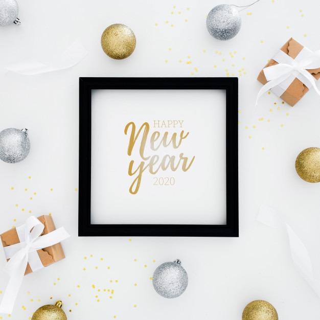 عکس نوشته خاص برای تبریک سال نو میلادی 2020