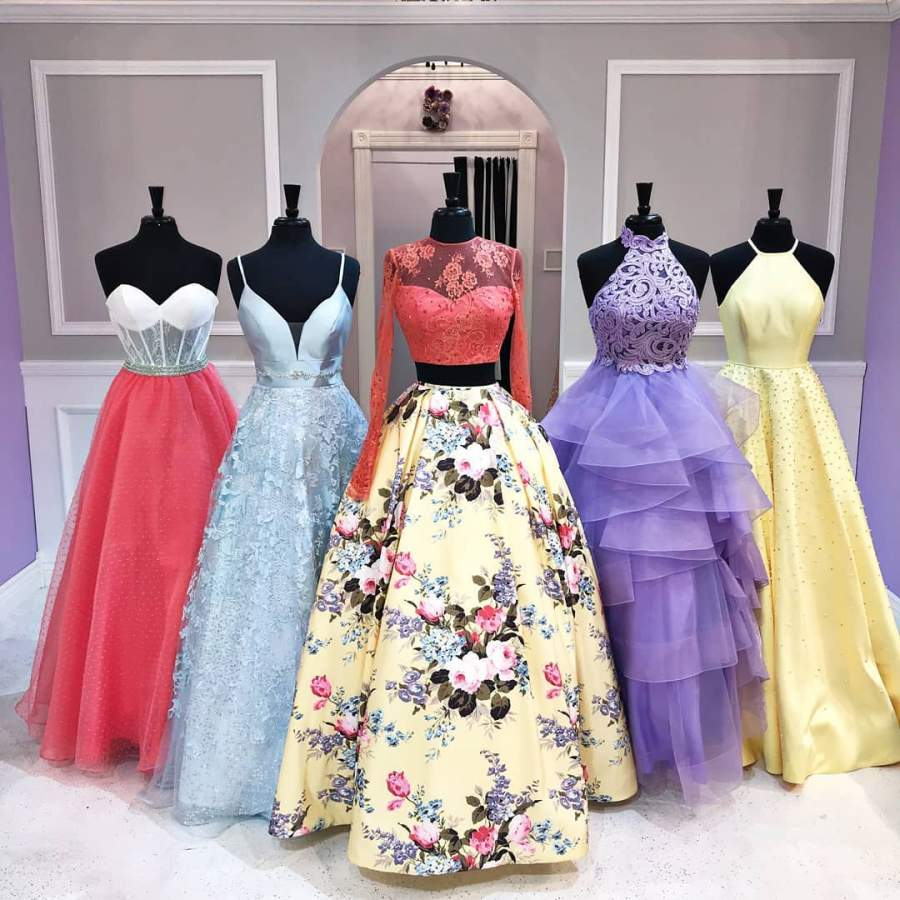 ست شاد لباس ساقدوش عروس 2019