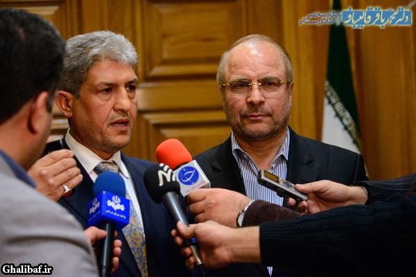 دیدار شهردار بغداد با دکتر محمد باقر قالیباف