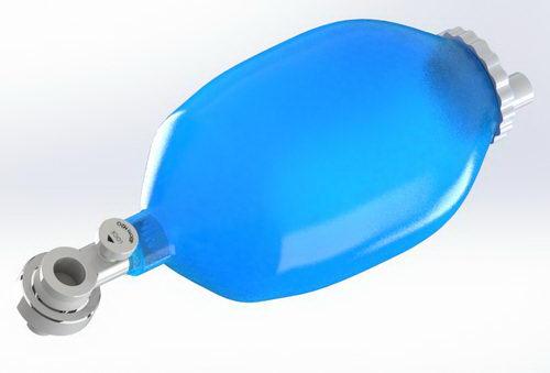 پروژه آماده آمبوبگ برای دستگاه تنفس ریه مصنوعی