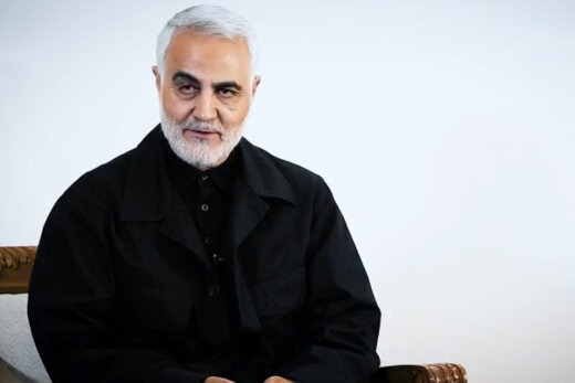 عکس سردار سلیمانی با لباس شخصی برای پروفایل