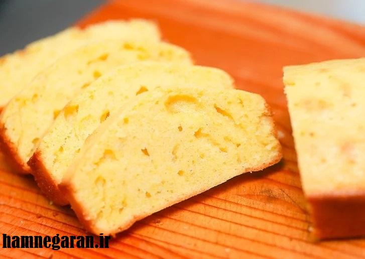 طرز پخت کیک اسفنی وانیلی