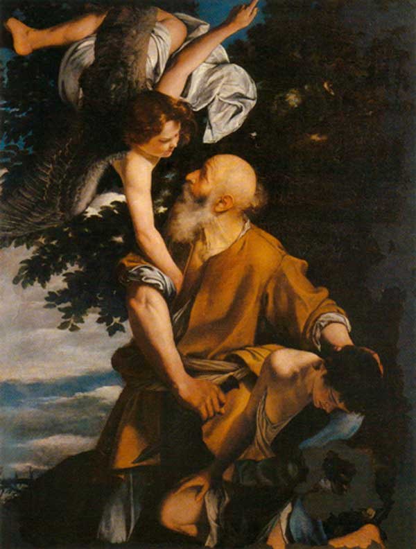 The-Sacrifice-of-Isaac-Orazio-Gentileschi-1615