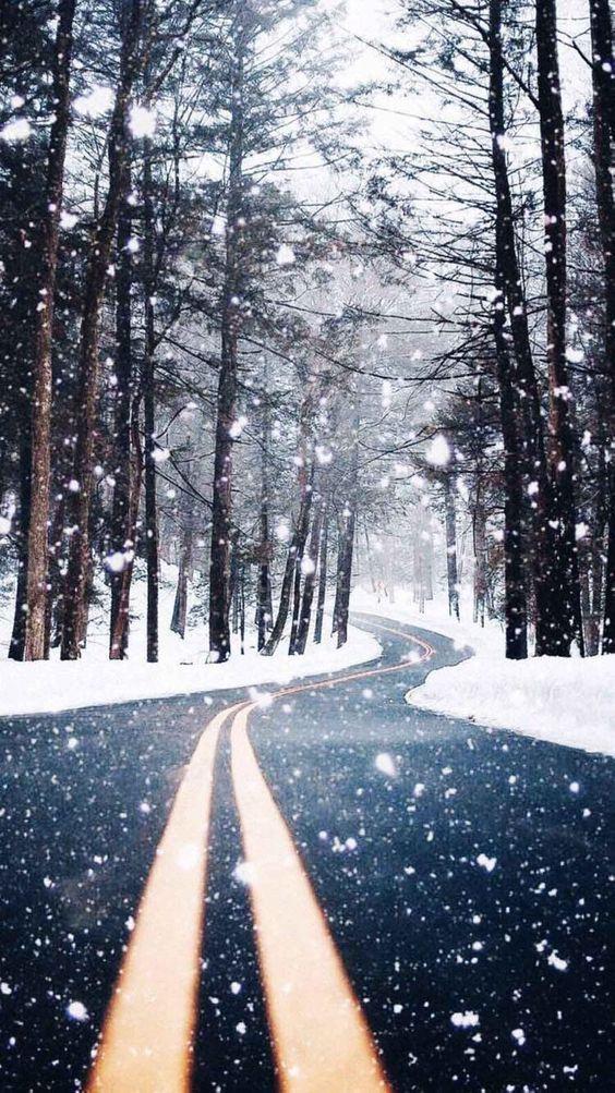 والپیپر زمستانی جدید برای موبایل