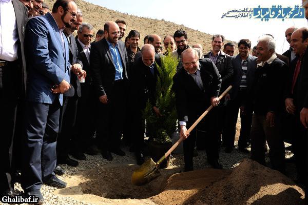 مراسم جشن درختکاری و افتتاح ۱۳۵۰ هکتار جنگل کاری در قالب طرح کمربند سبز پیرامون شهر تهران