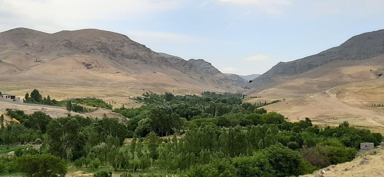 طبیعت روستای سهرین