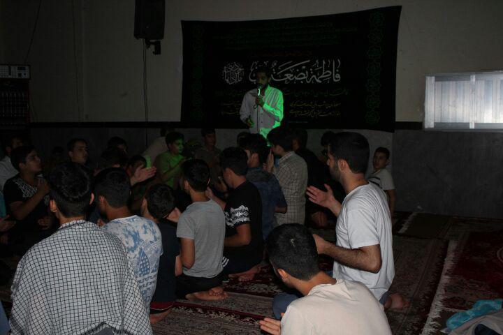 مراسم عزاداری امام حسین در حسینیه مشهد
