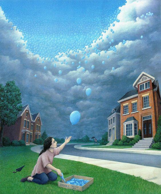 Rob Gonsalves - Magic Realism