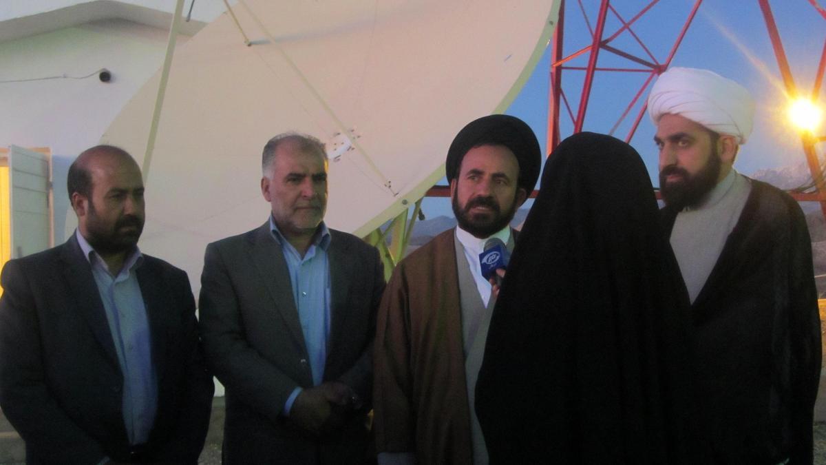 مراسم افتتاح ديجيتال فرستنده راديويي و تلويزيوني شهرستان بافت