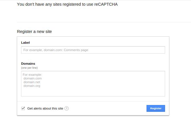 استفاده آسان از Google reCaptcha