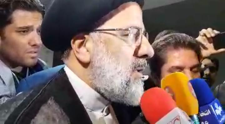 حجة الاسلام دکتر رئیسی در وزارت کشور