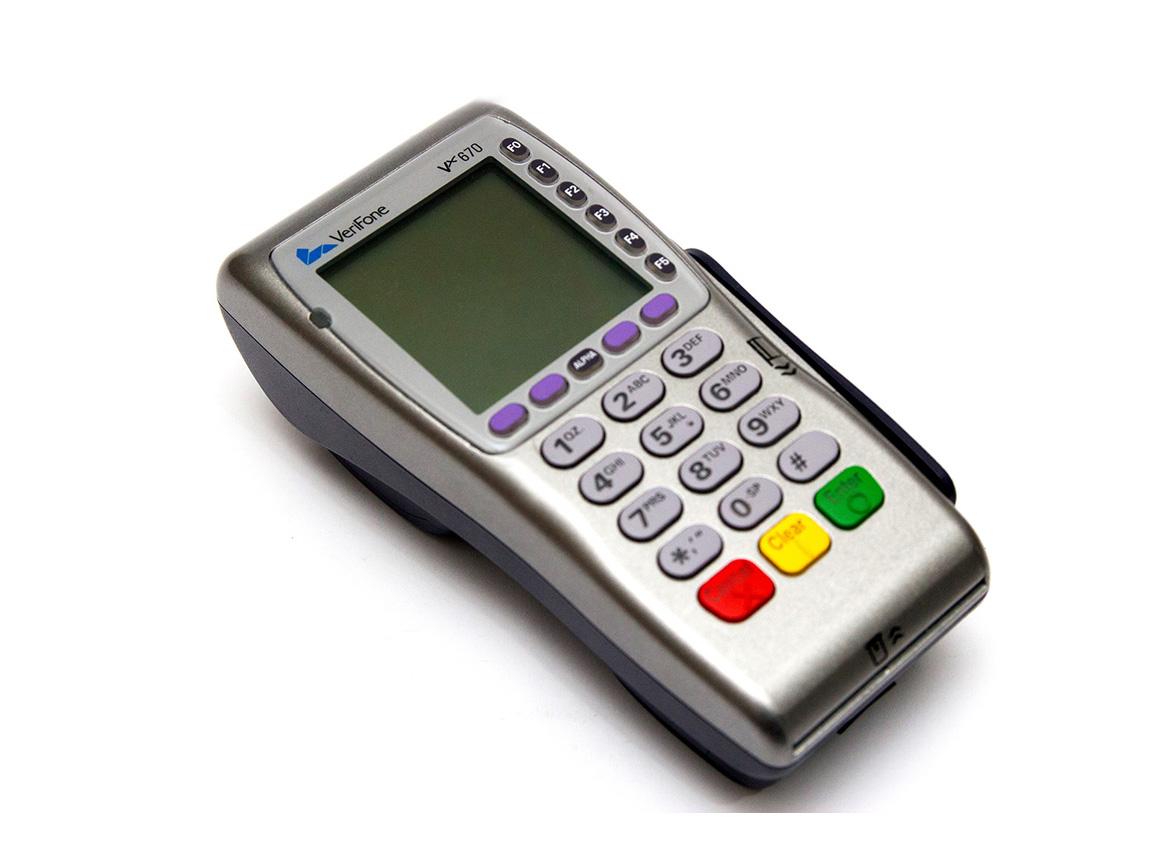 فروش دستگاه کارتخوان سیار وریفون 670