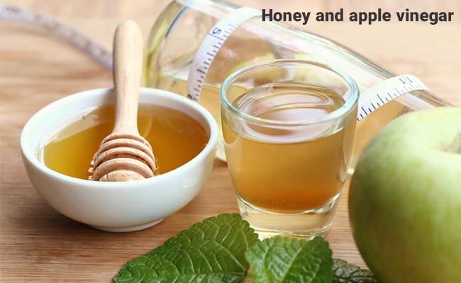 خواص عسل و سرکه سیب