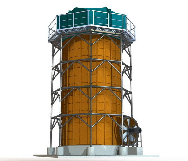 Cooling tower solidworks project
