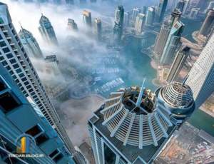 عکسهای نفسگیر از نوک بلندترین برج های دنیا