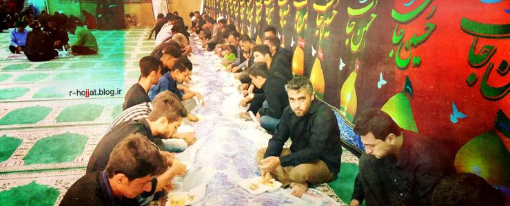 گزارش تصویری از عزاداری محرم در روستای آبکش