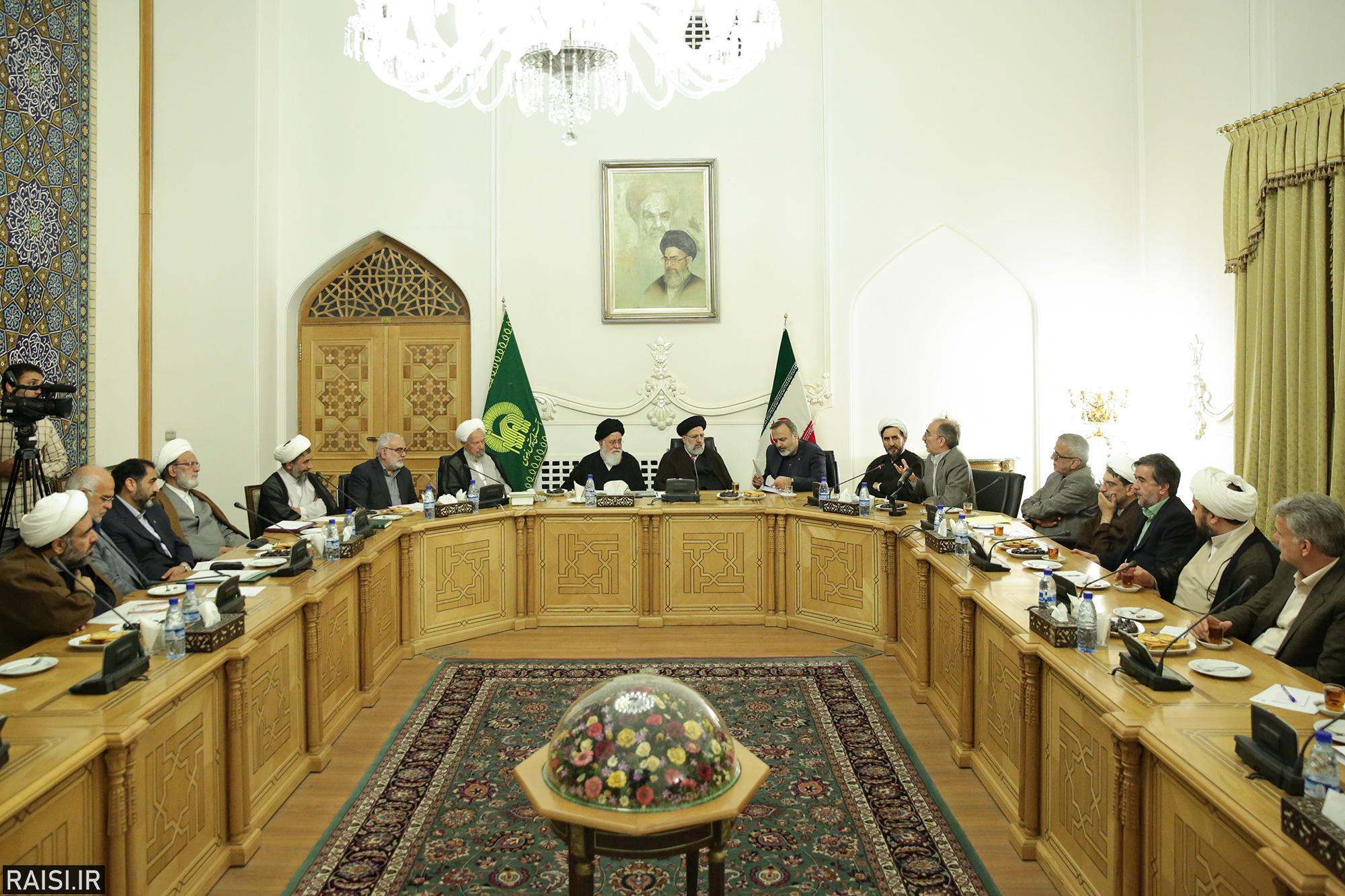 گزارش تصویری مجمع مشورتی آستان قدس رضوی