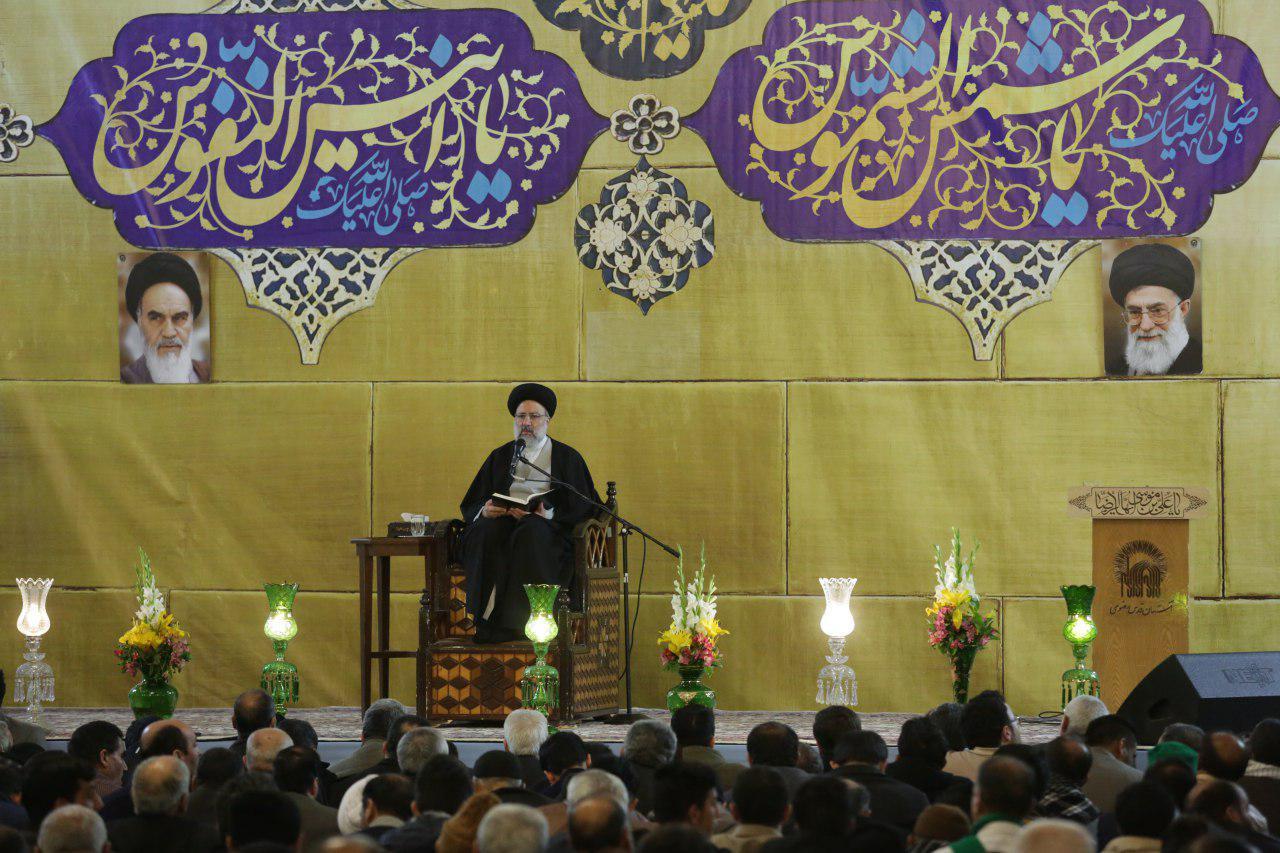 حجت الاسلام رئیسی : چشم و گوش، ابزار شناخت که خداوند به انسان عنایت کرده است
