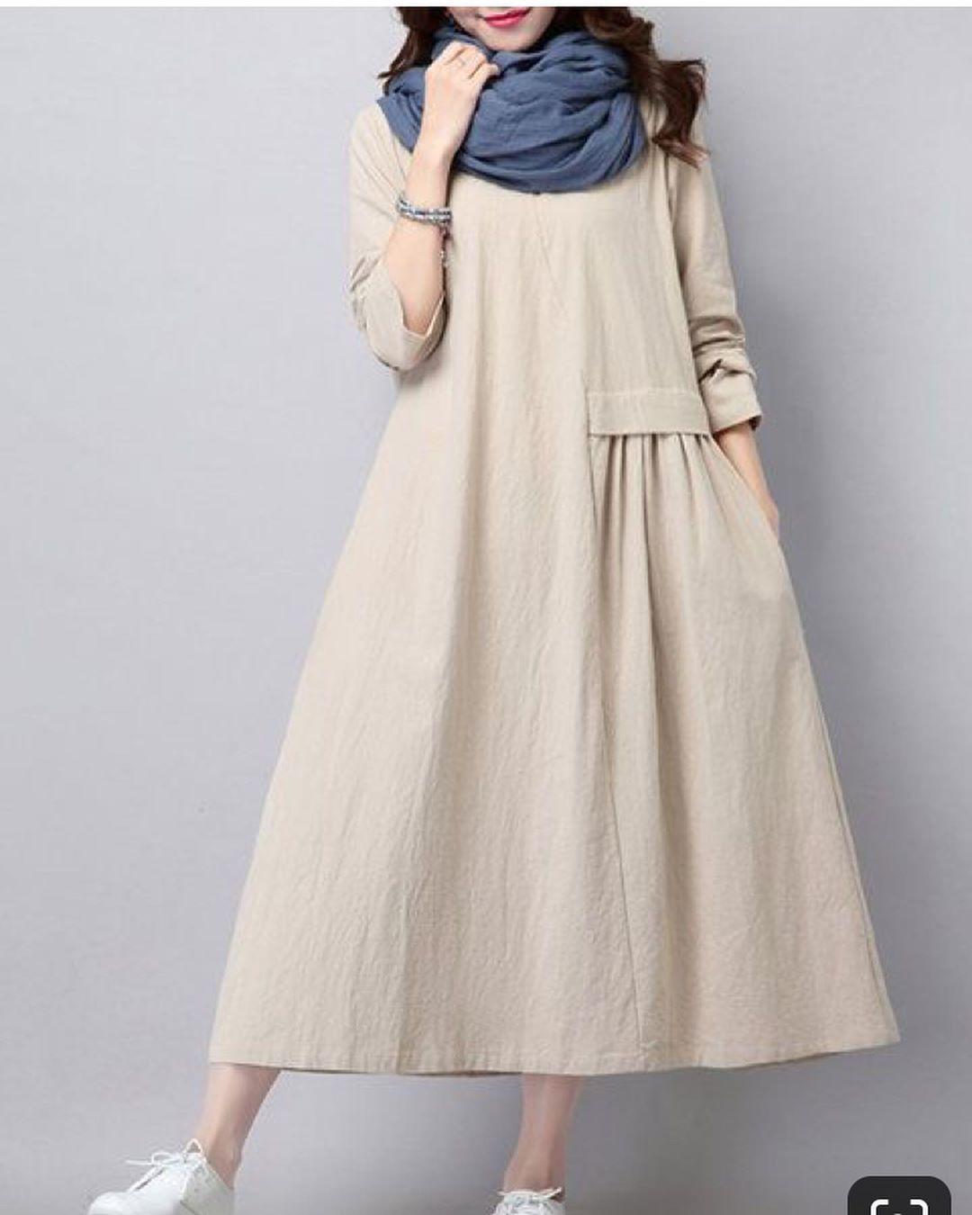 مدل مانتو تابستانی دخترانه با پارچه کتان خنک