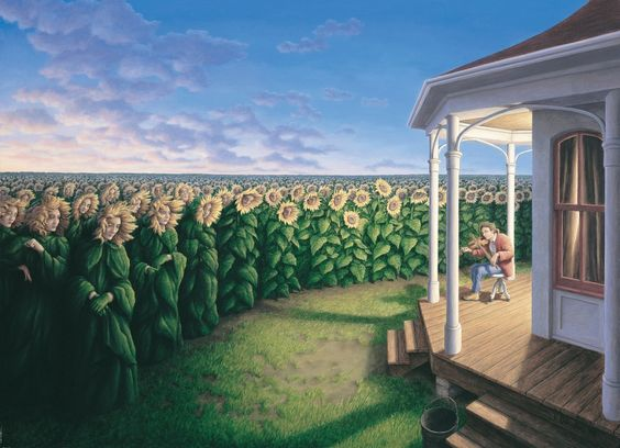 Rob Gonsalves Magical Realism Paintings