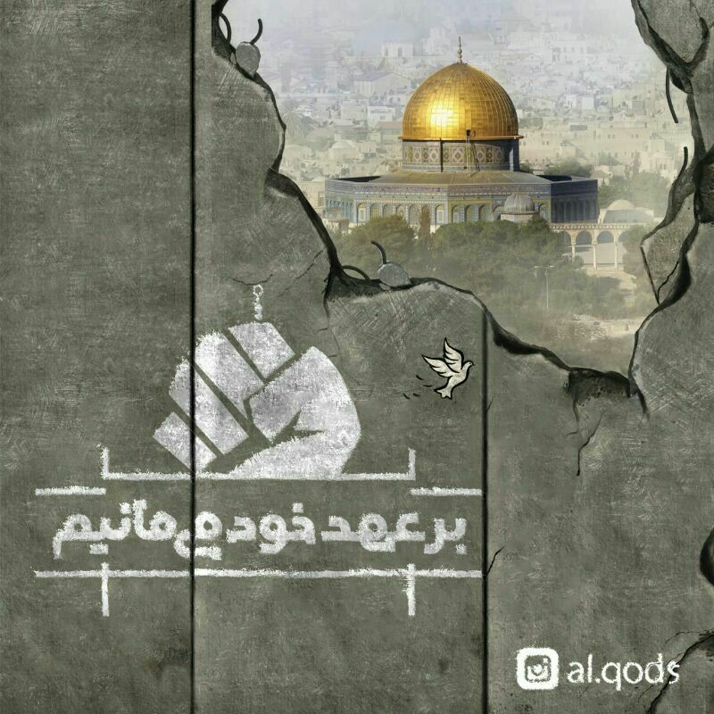شعر زیبای شاعر بجنوردی در وصف فلسطین اشغالی