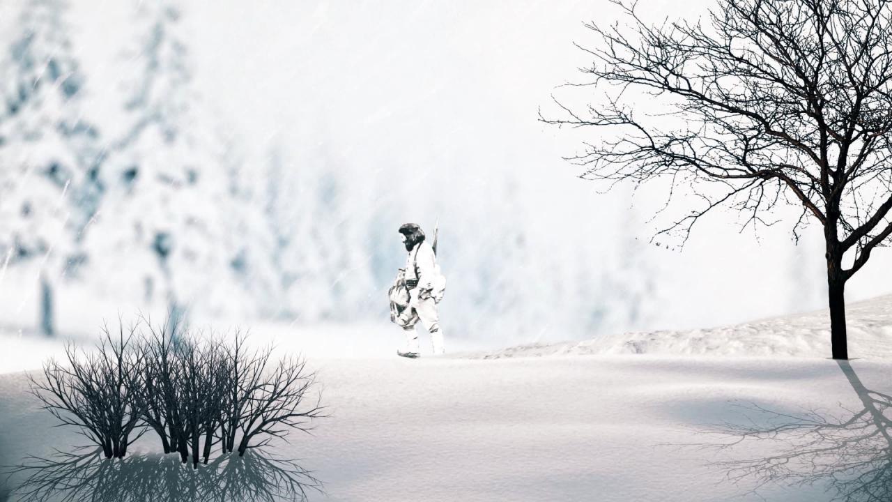 موشن گرافیک روایتِ بزرگ مردِ کوچک جنگلی