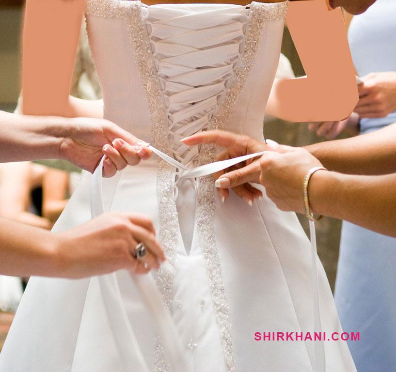 خرید لباس عروس و نامزدی دست دوم