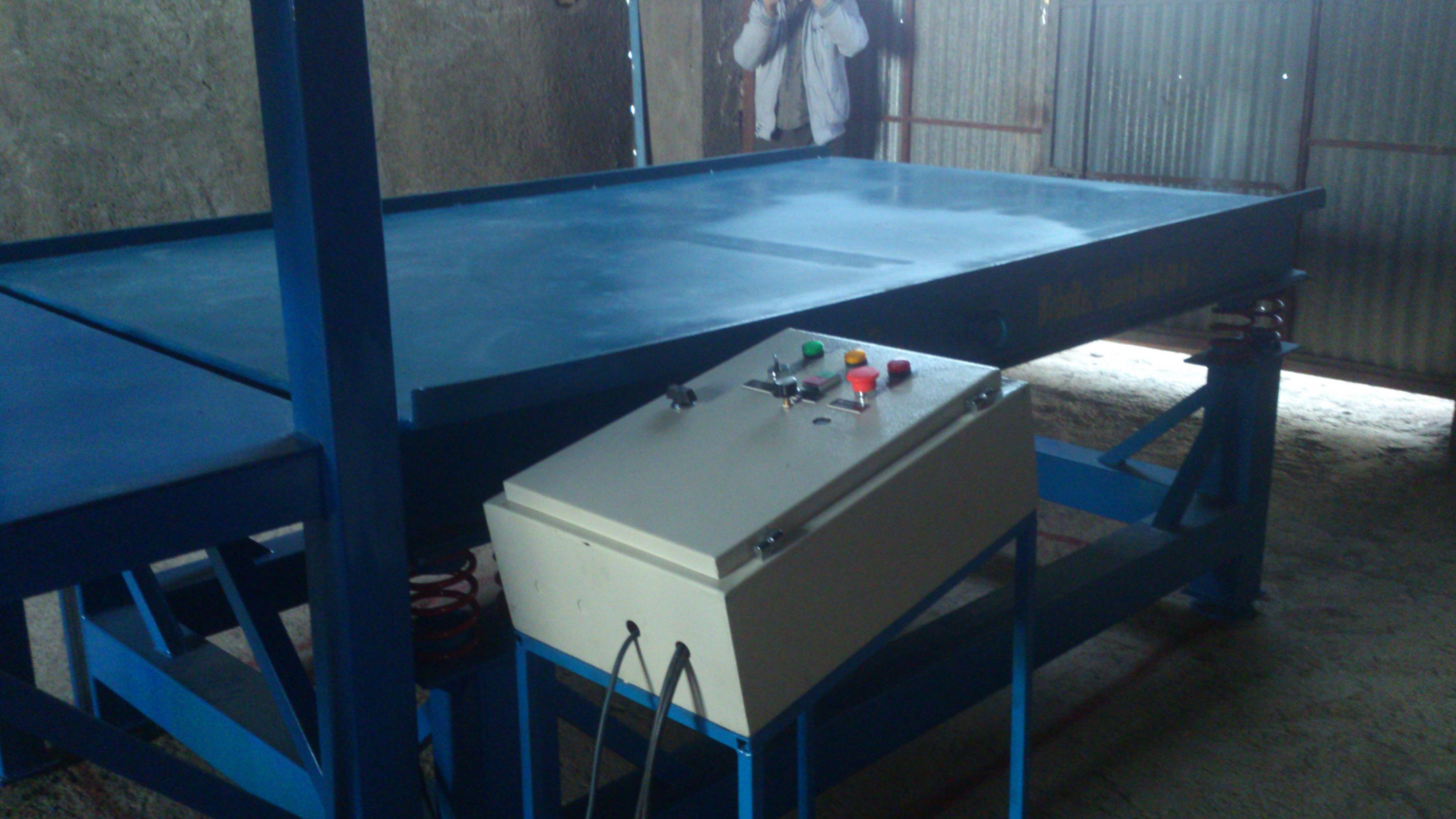 میز ویبره سنگ مصنوعی :: گروه فنی مهندسی نوین سازه شاهین