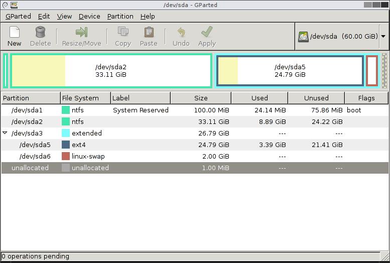 دانلود GParted 0.28.1.1 - پارتیشن بندی و مدیریت هارد دیسک در ...