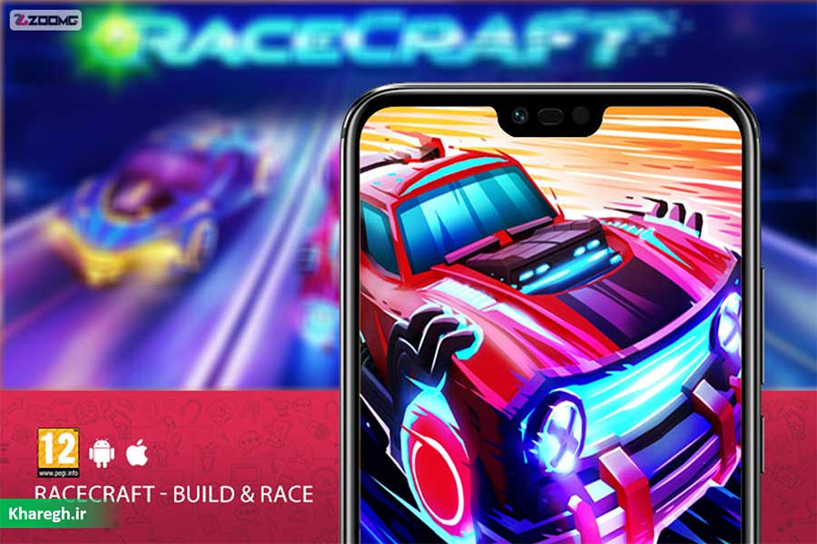 معرفی بازی RaceCraft - Build & Race