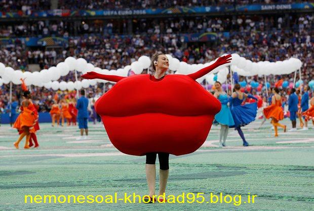 عکس های مراسم افتتاحیه یورو 2016