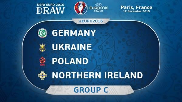 جدول و نتایج گروه C یورو 2016