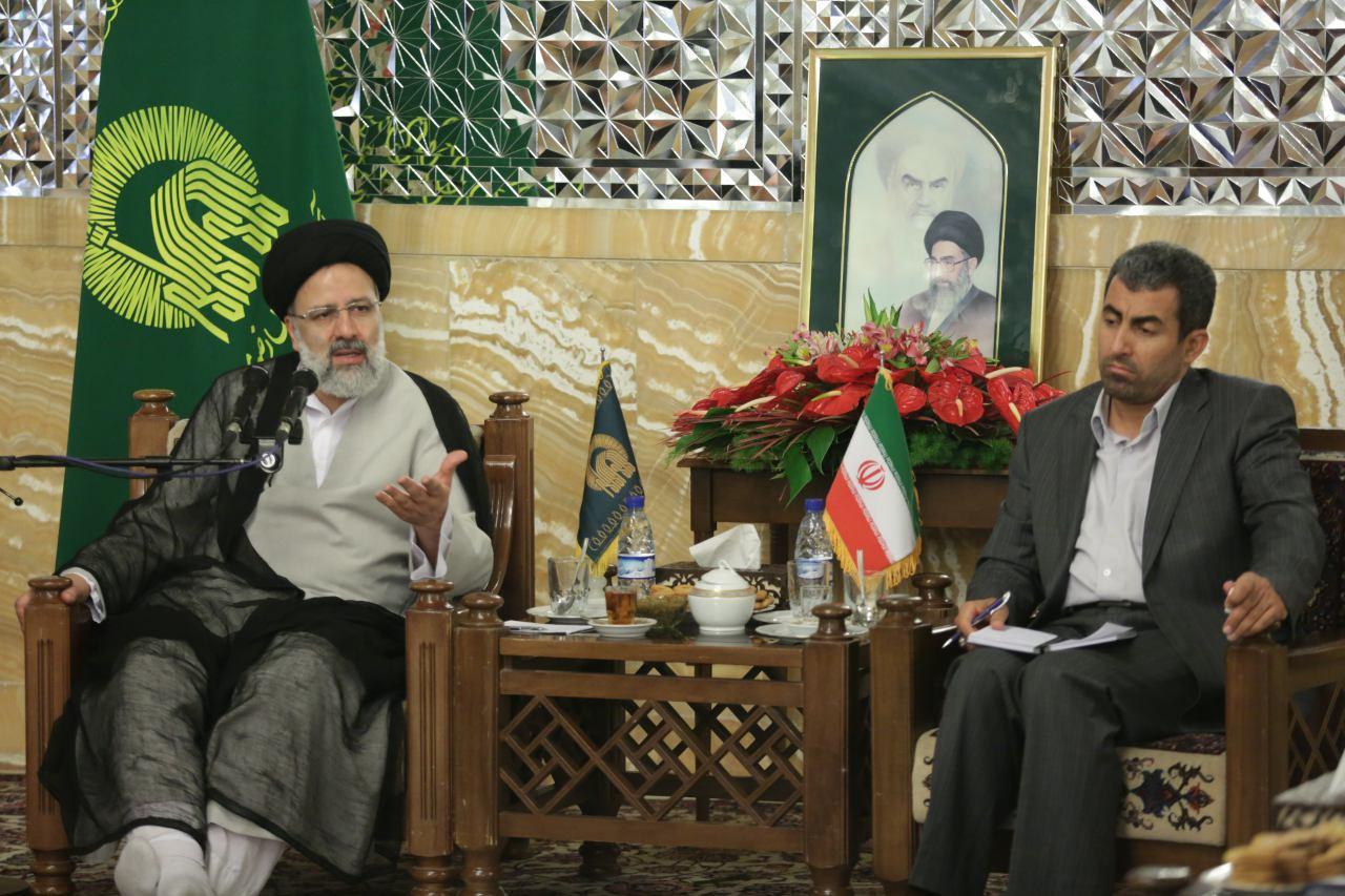 دیدار اعضای کمیسیون اقتصادی مجلس با تولیت آستان قدس رضوی