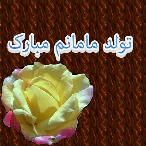 عکس+نوشته+تبریک+تولد+مادر