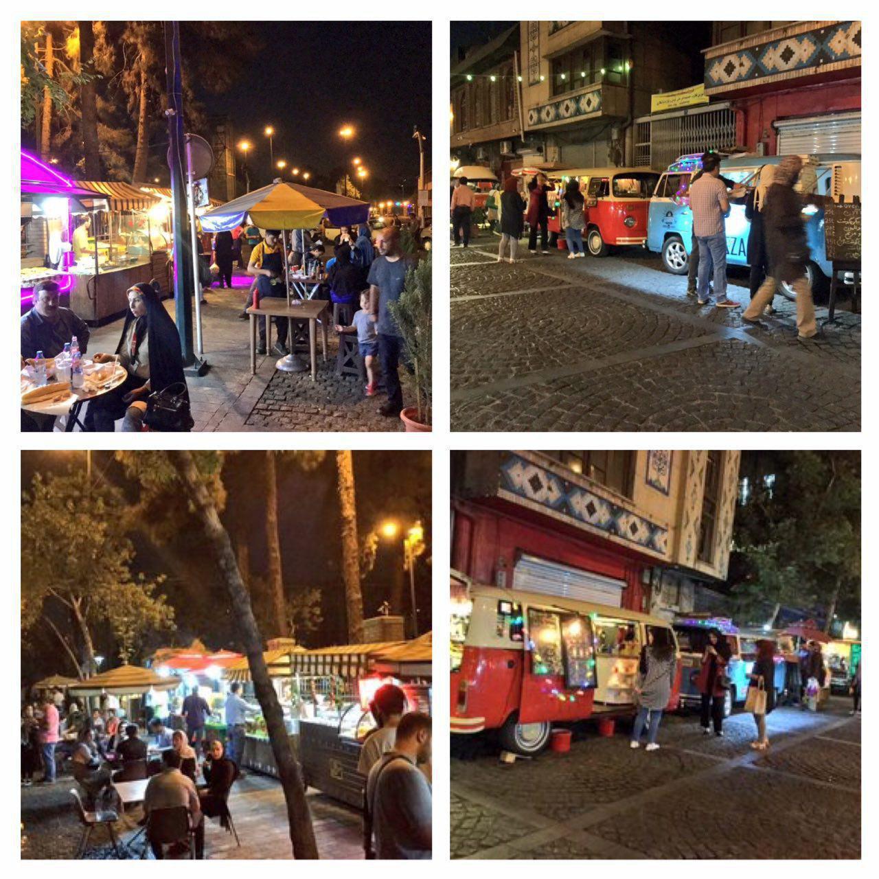 تجربه شب های شانزلیزه در خیابان ۳۰تیر