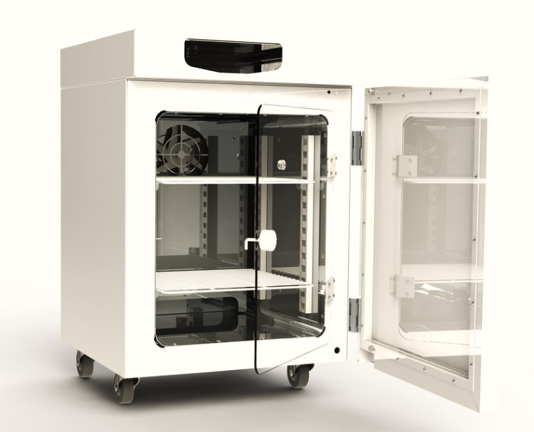 CO2 Incubator Solidworks project
