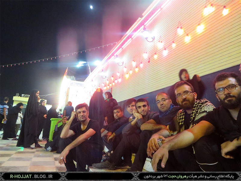 کاروان اربعین حسینی بردخون