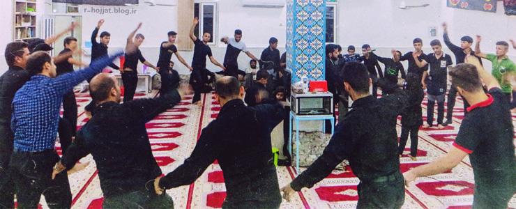 گزارش تصویری از مجلس عزاداری سیدالشهداء در مسجد امام موسی کاظم (ع) بردخون