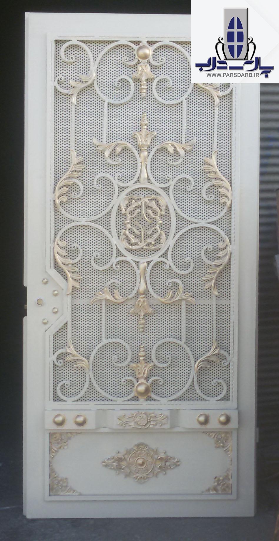 مراحل وروش ساخت درب فلزی