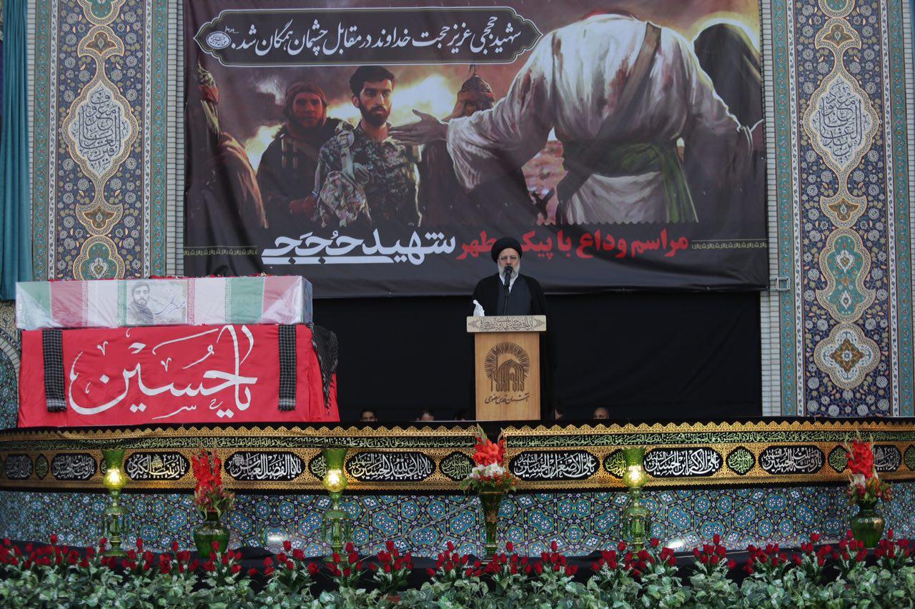 ایران اسلامی به برکت جوانان عاشورایی شکست ناپذیر است