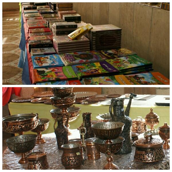 برگزاری نمایشگاه کتاب و صنایع دستی به مناسبت ایام الله دهه مبارک فجر