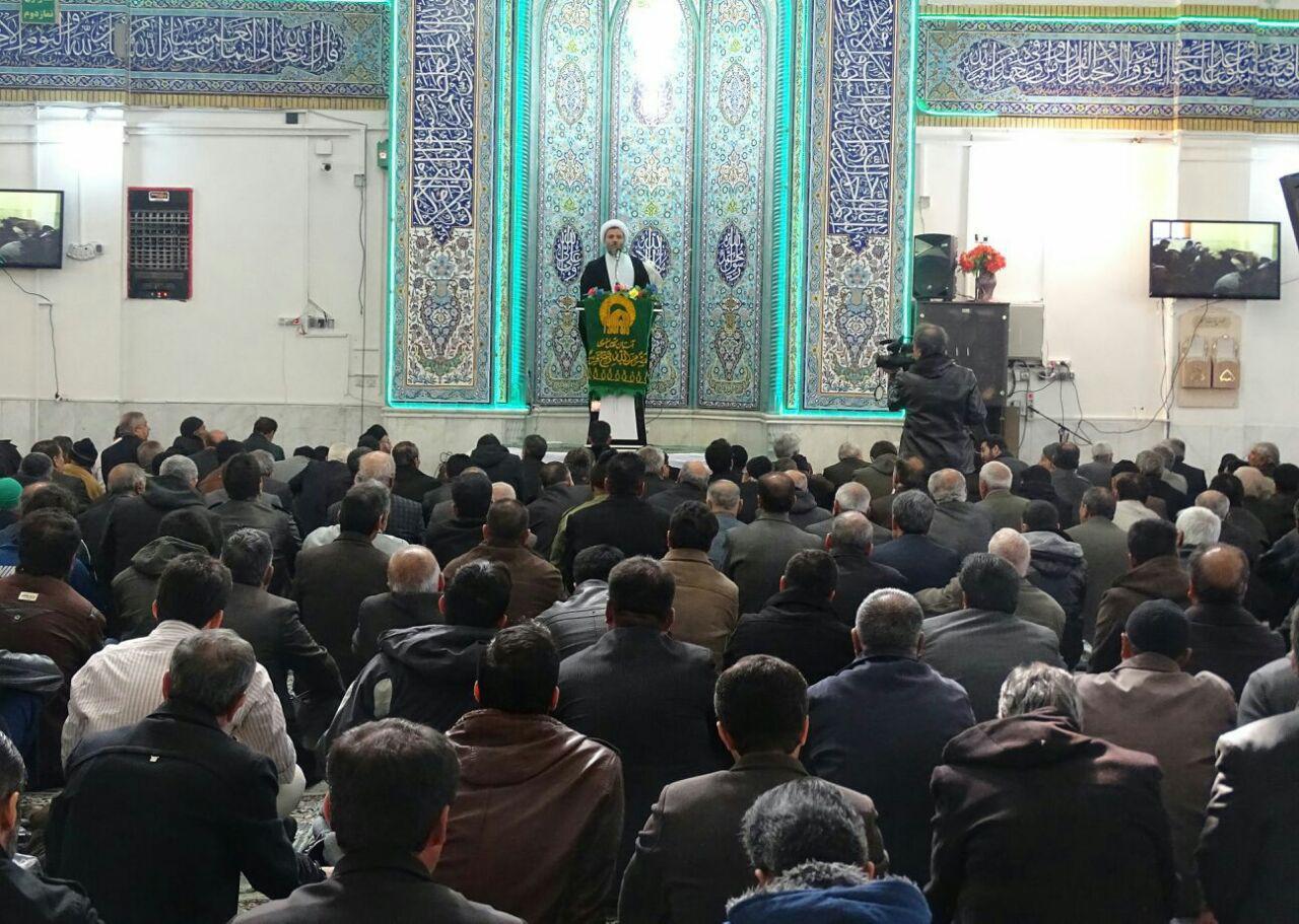 نمازجمعه مبارکه-بهمن94