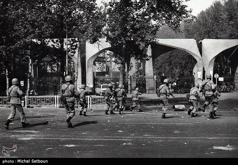 تیراندازی ارتش شاه به سوی دانشجویان