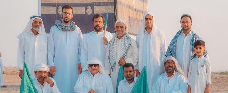 36عکس از نمایش بازسازی واقعه غدیر در بوشهر +پشت صحنه