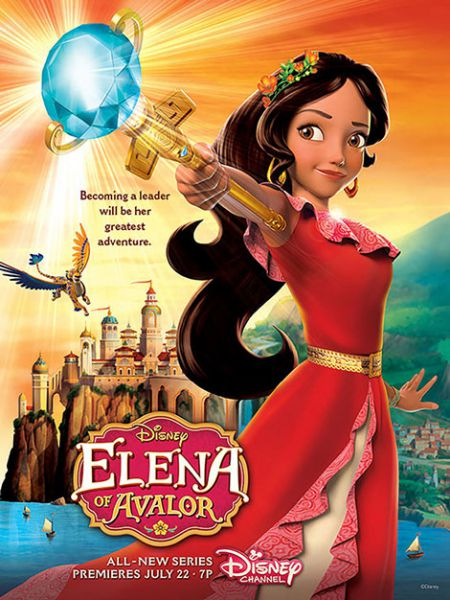 انیمیشن Elena of Avalor 2016