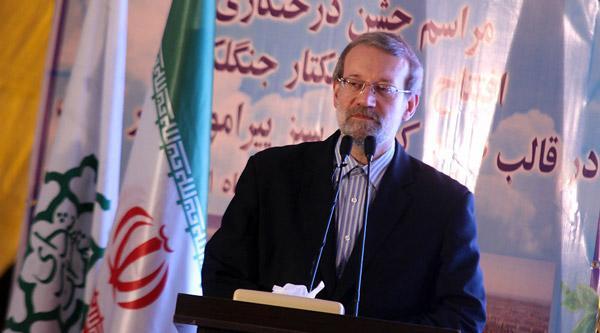 تقدیر رئیس مجلس شورای اسلامی از تلاش های شهردار تهران