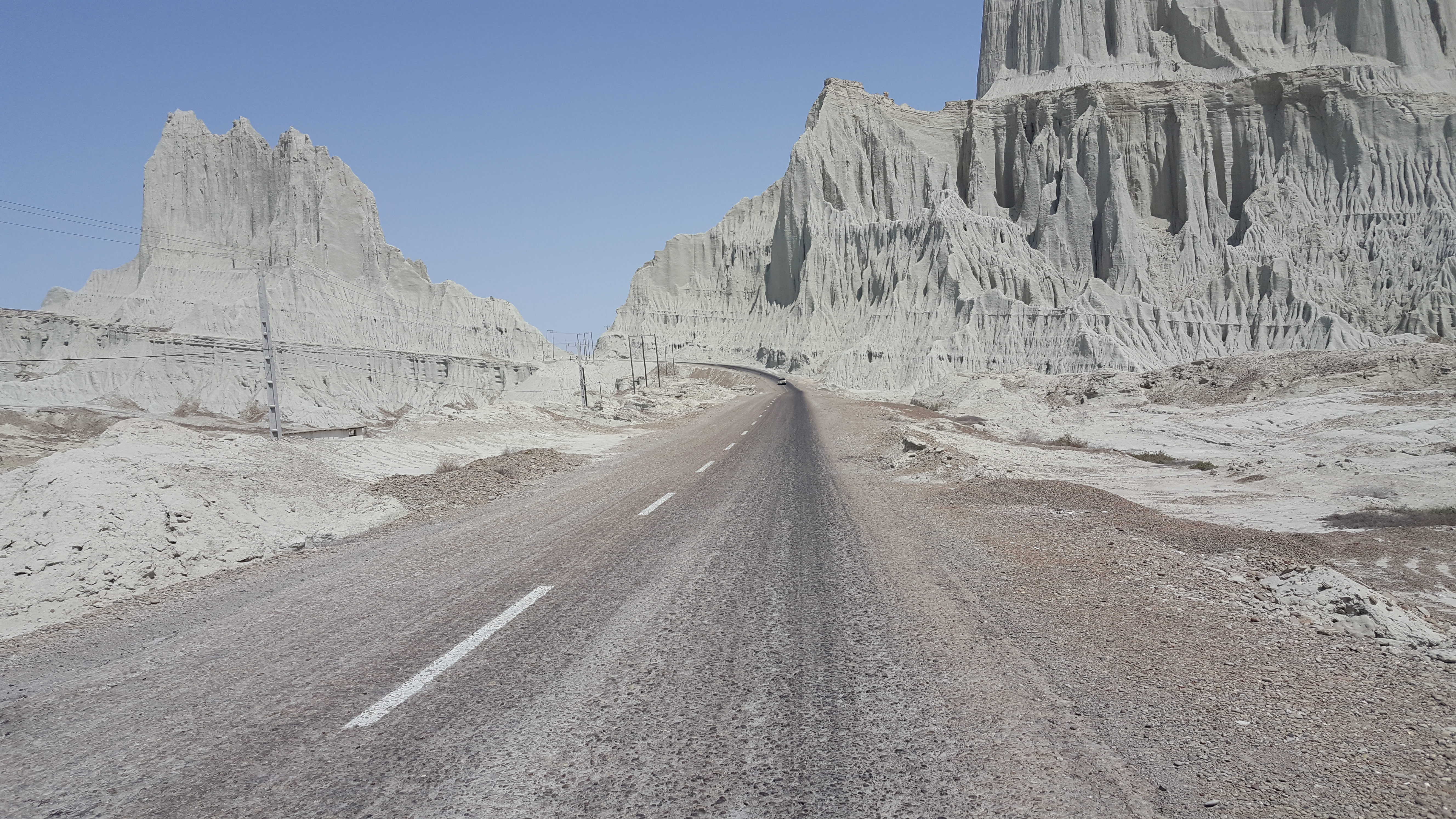 مسیر جاده ای درگس