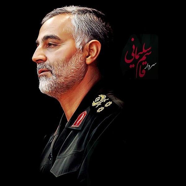 عکس پروفایل سردار قاسم سلیمانی با کیفیت