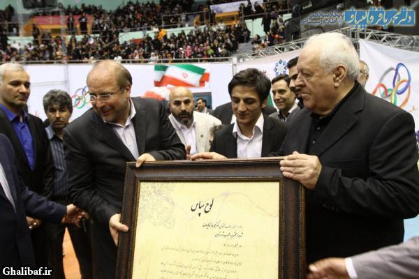 چهارمین افتتاحیه المپیاد ورزشی محلات شهر تهران